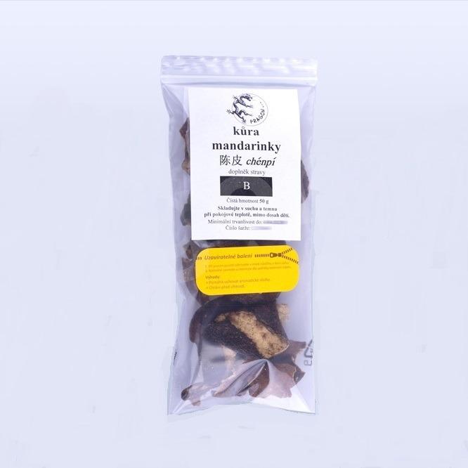 Levně KŮRA MANDARINKY (chénpí), 50 g