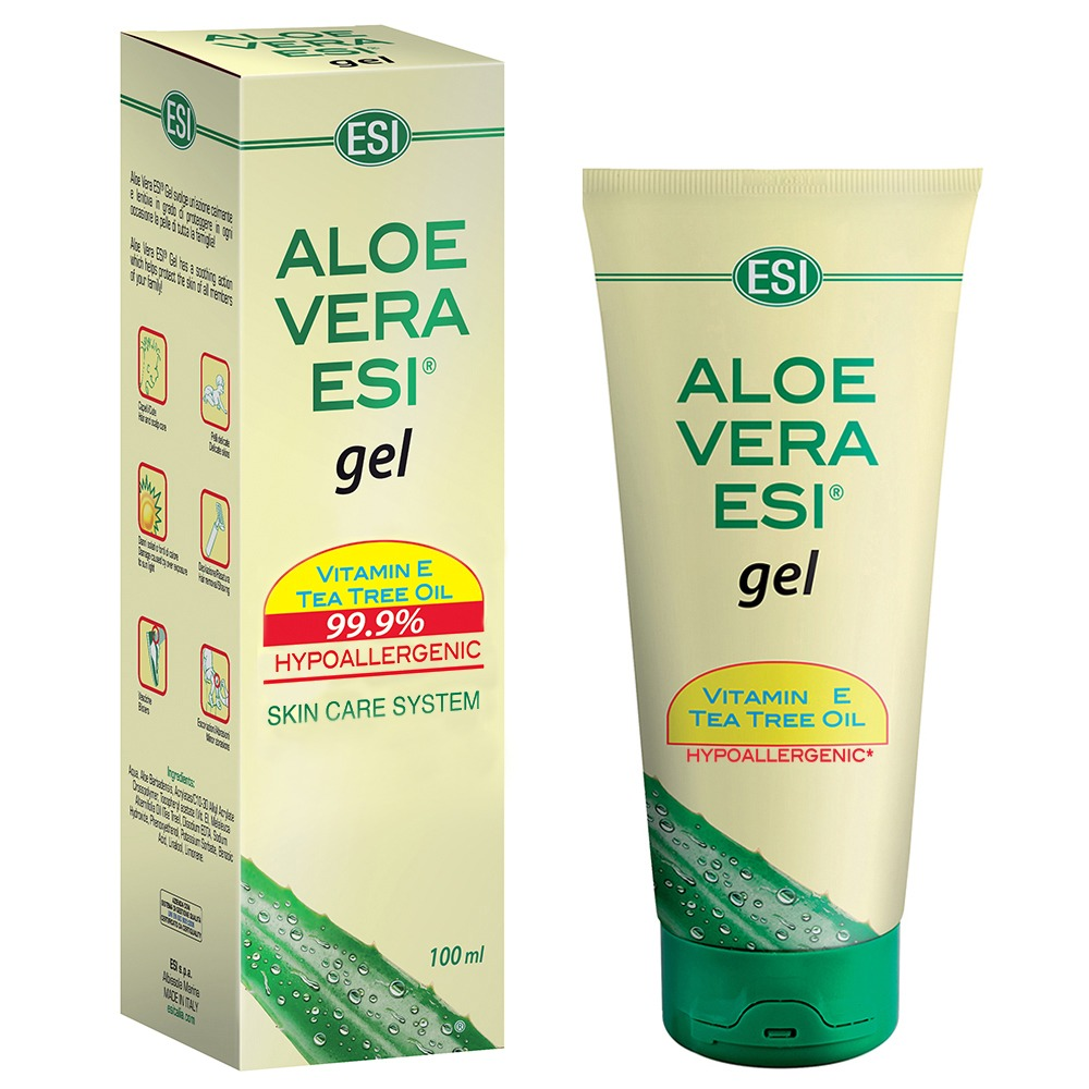 ALOE VERA ESI gel s vitamínem E a Tea Tree olejem, 100 ml