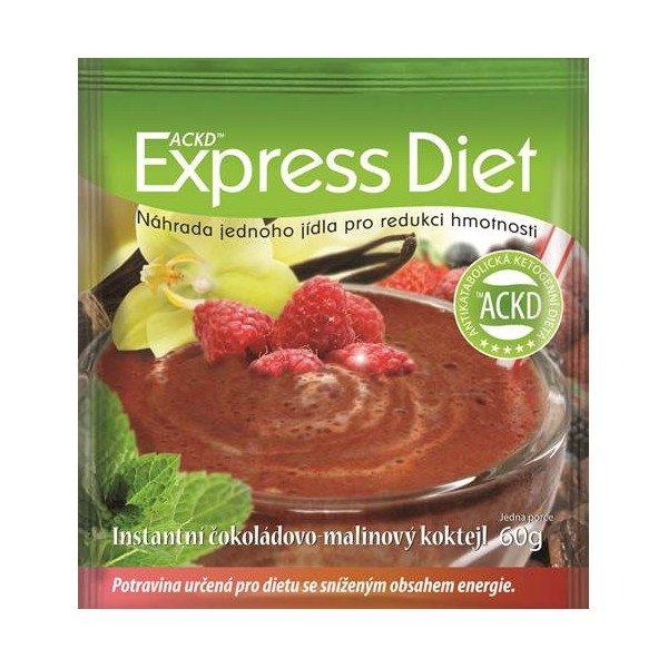 Express Diet Čokoládový koktail s malinami 60g