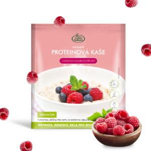 Good Nature Express Diet proteinová instantní kaše s vanilkovo-malinovou příchutí na hubnutí 60 g