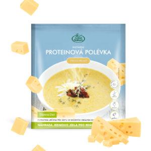 Good Nature Express Diet instantní proteinová polévka se sýrovou příchutí na hubnutí 58 g