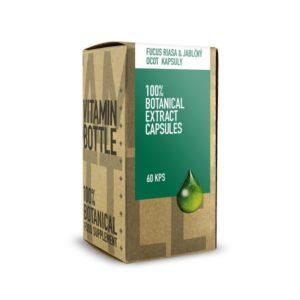 Slim & Detox - Fucus riasa s jablčným octom 60 kapsúl + Pestrec mariánsky so žihľavou 50 ml