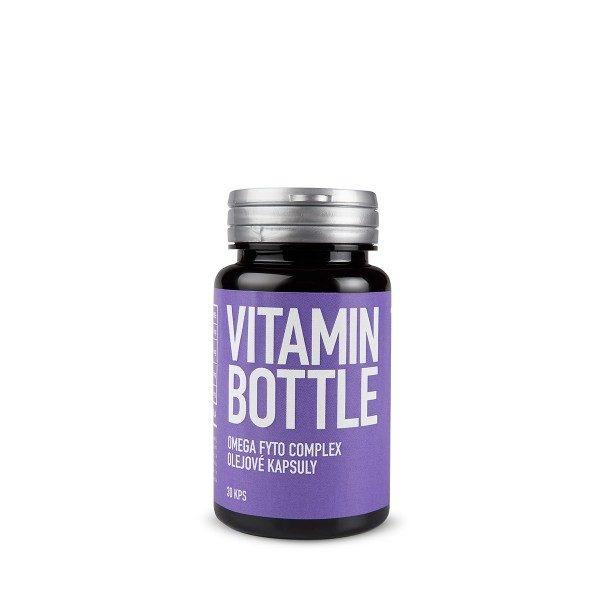 VitaminBottle OMEGA FYTO COMPLEX 30 kapsúl - trávenie, cholesterol