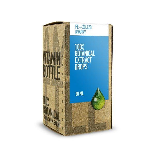 Fe - Železo (kvapky) 30 ml
