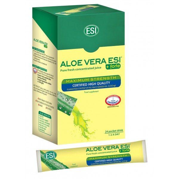 Aloe Vera do vrecka - čistá šťava 99,8%, 24x20 ml