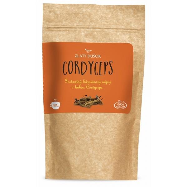 Levně Zlatý Doušek, Instantní kávovinový nápoj s houbou CORDYCEPS 100 g