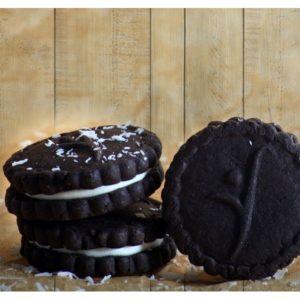 Kakaové sušienky s vanilkovou náplňou Express Diet 18 g