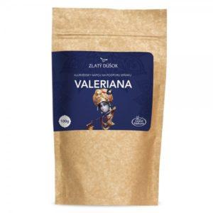 Zlatý dúšok Ajurvédska káva VALERIANA 100 g