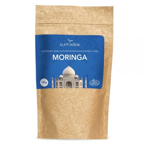 Ajurvédská káva MORINGA 100 g, regulace hladiny krevního cukru