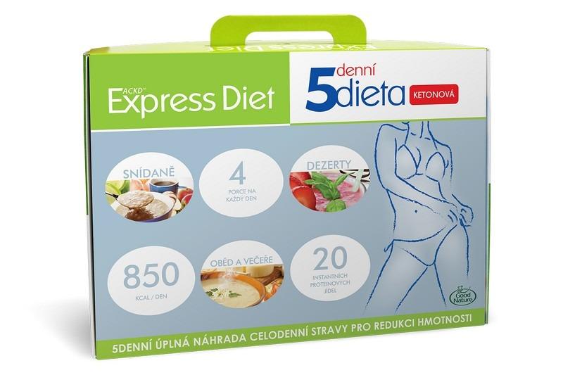 5denní proteinová ketonová dieta na hubnutí Express Diet 20x56 g