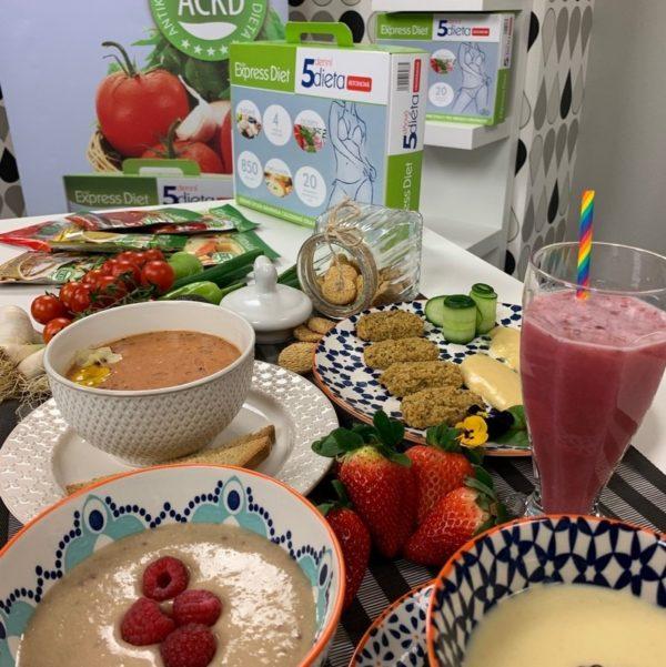 Good Nature měsíční kúra Express Diet - 130 proteinových jídel, 5 955 g