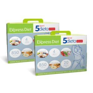 výhodné dvojbalení 5denní proteinové diety Express Diet