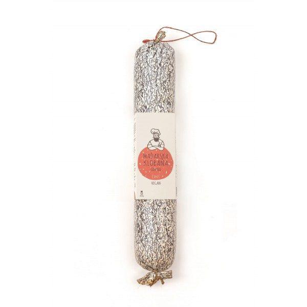 Pikantní rostlinná uzenina - maďarská klobaňa čípoš