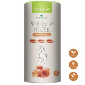 Proteinové koktejly Express Diet - vegan