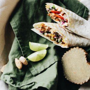 Vegan kebab - rostlinná náhražka masa