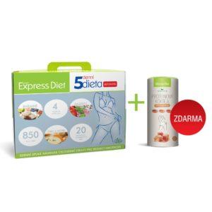 5denní dieta Express Diet s bílkovinným koktejlem s karamelovou příchutí