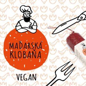 Maďarská klobaňa - vegan