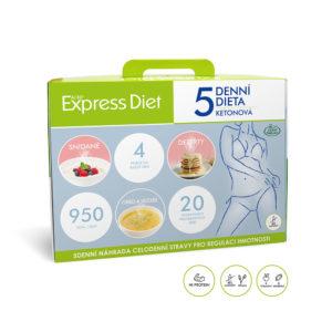 5denní dieta Express Diet na hubnutí